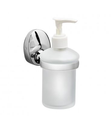 Дозатор для мыла Raiber R70116 стеклянный, настенный