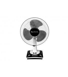 Вентилятор настольный Centek СТ-5008 (чёрный) 55Вт 43см
