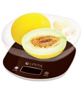 Весы кухонные CENTEK CT-2453 (шоколад)