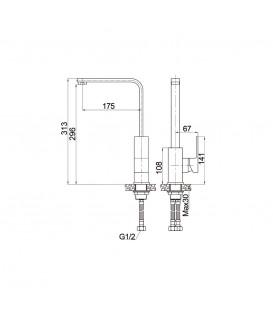 Смеситель для кухни Raiber Zuks R1603