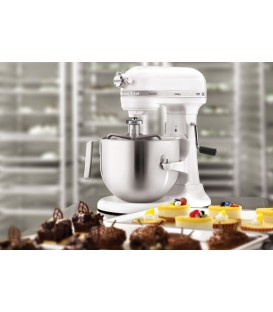 Миксер профессиональный KitchenAid Heavy Duty чаша 6,9 л белый 5KSM7591XEWH