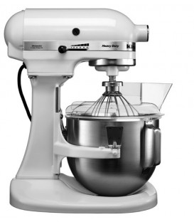 Миксер профессиональный KitchenAid Heavy Duty чаша 4,8 л. белый 5KPM5EWH