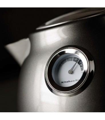 Чайник электрический KitchenAid ARTISAN серебряный медальон 5KEK1522EMS