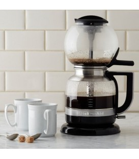 Сифонная кофеварка KitchenAid ARTISAN чёрная 5KCM0812EOB