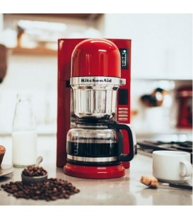 Капельная кофеварка пуровер KitchenAid красная 5KCM0802EER