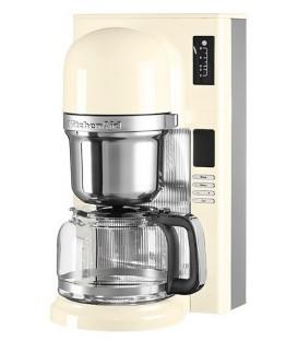 Капельная кофеварка пуровер KitchenAid кремовая 5KCM0802EAC
