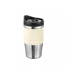 Кружка-термос для кофеварки KitchenAid кремовая 5KCM0402TMAC