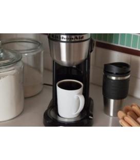 Кофеварка KitchenAid чёрная 5KCM0402EOB