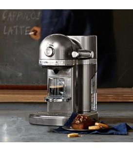 Капсульная кофемашина KitchenAid Nespresso серебряный медальон 5KES0503EMS
