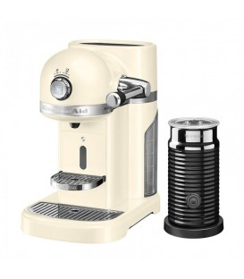 Кофемашина KitchenAid Artisan Nespresso с Aeroccino кремовая 5KES0504EAC