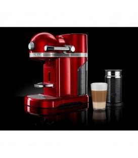 Кофемашина KitchenAid Artisan Nespresso с Aeroccino красная 5KES0504EER